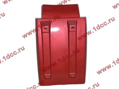 Брызговик передней оси правый H3 красный HOWO (ХОВО) WG1642230104