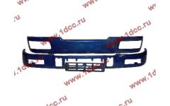 Бампер C синий верхний+нижний (в сборе) фото Оренбург